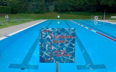 Weitere Lockerungen im Schwimmbad