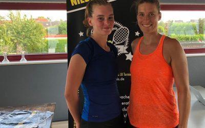 Alice Tesan in Gladbach erfolgreich