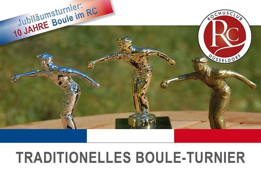 Jubiläums Boule-Turnier im Rochusclub