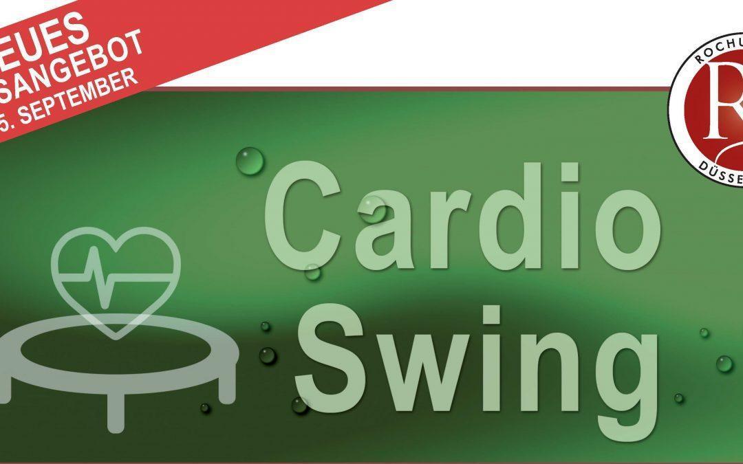 Neues Kursangebot: Cardio Swing