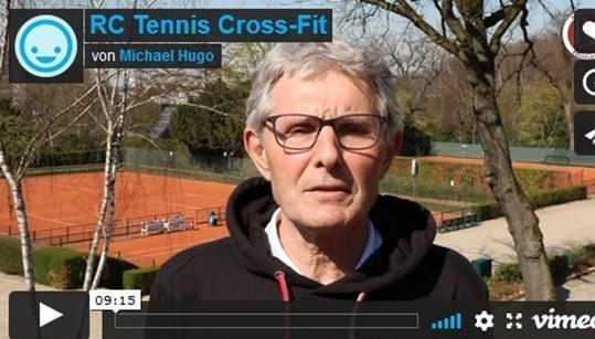 Tennisspezifische Fitness-Videos