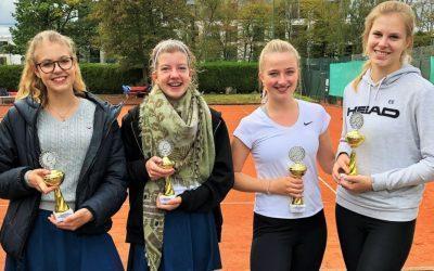 RC Erfolge bei den Jugend Bezirksmeisterschaften im Doppel