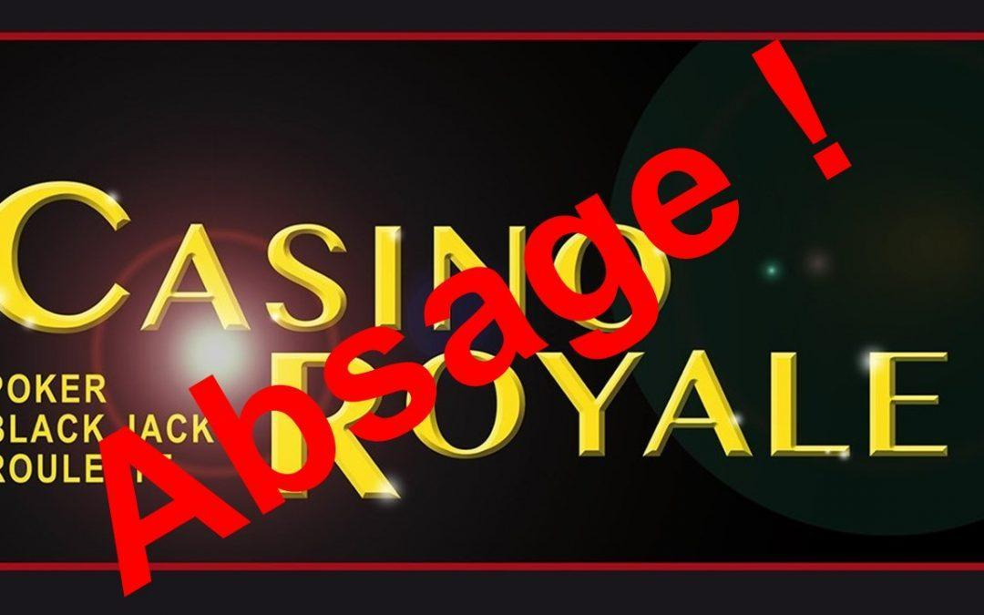 Absage: Clubfest Casino Royale