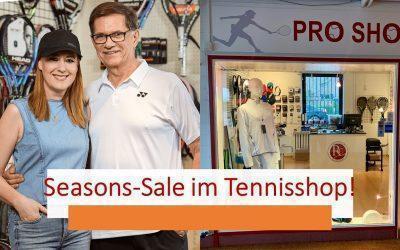 Seasons Sale im Tennisshop