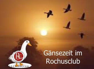 Gänsezeit im Rochusclub