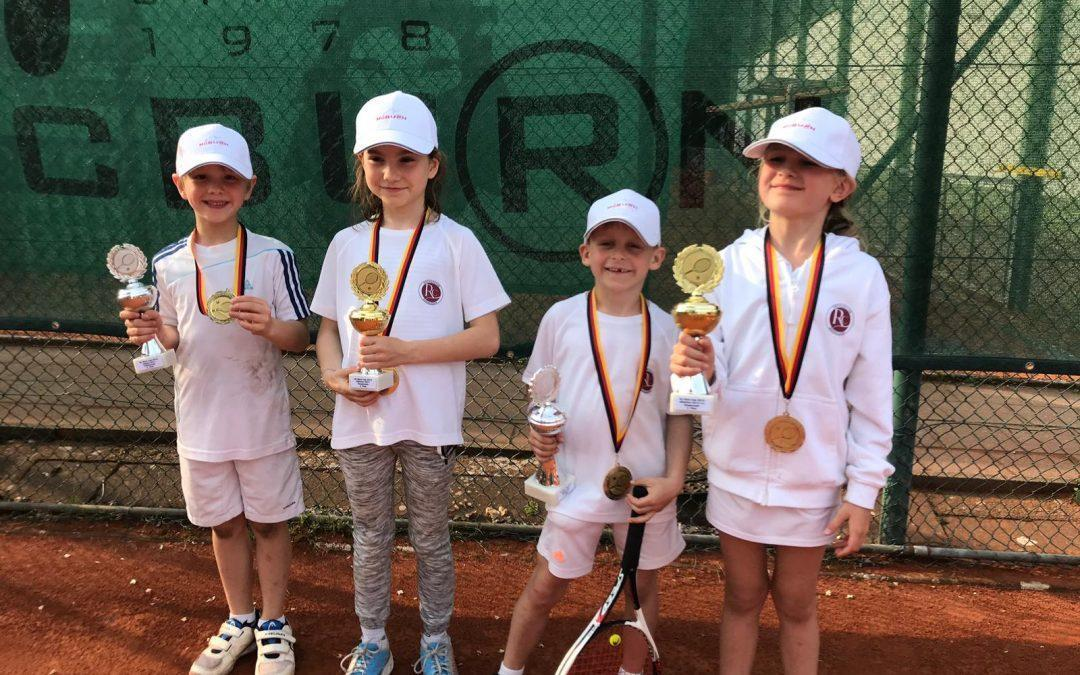 Die Jüngsten waren erfolgreich beim McBurn Cup
