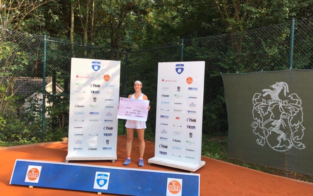 Annemarie Lazar gewinnt das Bredeney Sommer Circuit-Masters 2019