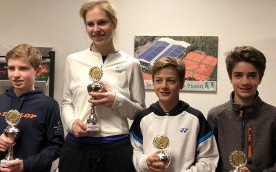 Erfolgreiche Rochusclub-Jugend beim Bezirksranglisten-Turnier