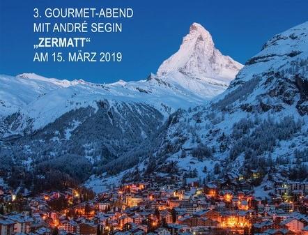 "Gourmet-Abend ""Zermatt"" im Rochusclub"