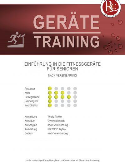 Geräte Training