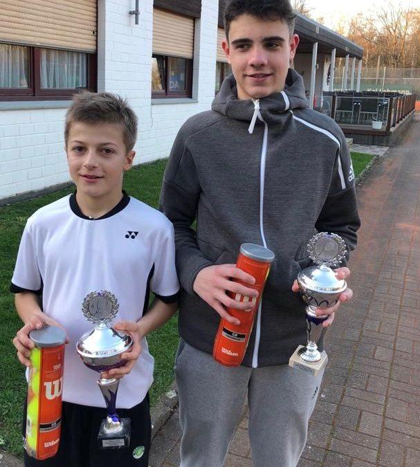 Jan Gewaltig gewinnt U16 Turnier beim TuS Ickern