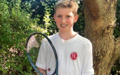 Linus Rademacher gewinnt U12 Turnier in Mühlheim