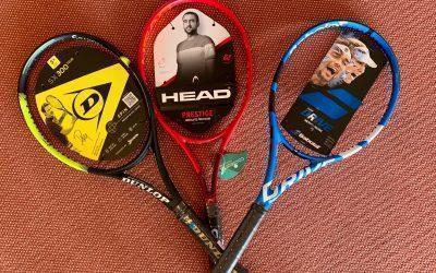 Aktuelle Tennisschläger zu Tennispoint-Preisen!