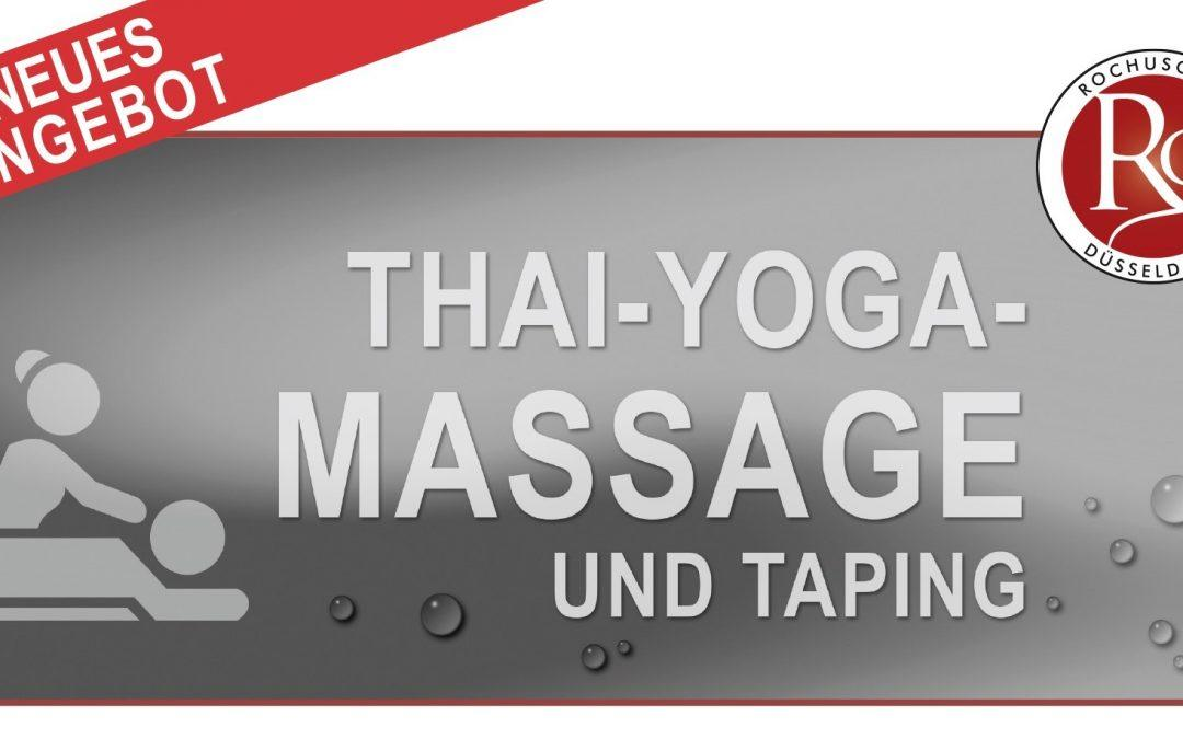 NEU: Massagen im Rochusclub (nur für Mitglieder)