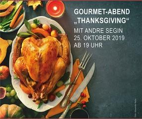 """Gourmet-Abend mit Andre Segin zum Thema """"Thanksgiving"""""""