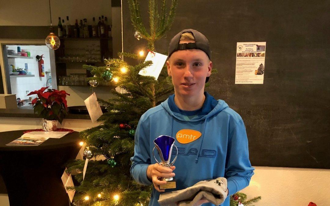 Finn Thiergard gewinnt Traarer Open (U14)